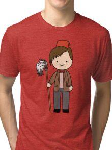 Eleventh Doctor Pandorica Kawaii Cartoon Design Tri-blend T-Shirt