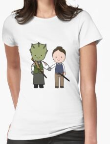 Vastra & Jenny Kawaii Cartoon Design T-Shirt