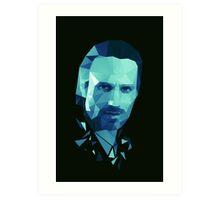Rick Grimes - The Walking Dead Art Print