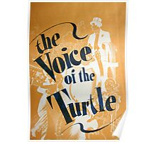 "Day 179 | 365 Day Creative Project  ""The Voice of the Turtle"" Poster"