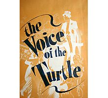 "Day 179 | 365 Day Creative Project  ""The Voice of the Turtle"" Photographic Print"