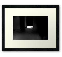 A Box of Light Framed Print