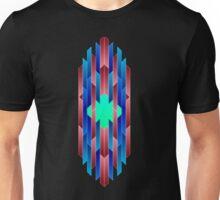 Geometric Crystal Core Unisex T-Shirt