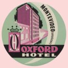 Vintage travel oxford hotel uruguay by kustom