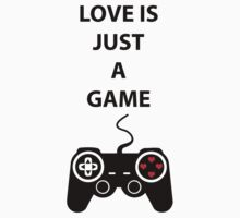 Love is just a Game Kids Tee