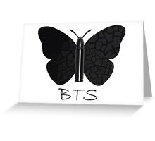 BTS Bullet Butterfly Greeting Card