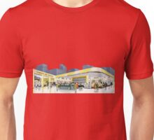 Vintage gasstation garage Unisex T-Shirt