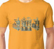 Vintage steam engine Unisex T-Shirt