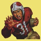 Vintage football player by kustom