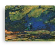 Spain - La Mancha de Noche Canvas Print