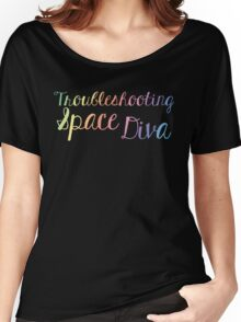 Space Diva Women's Relaxed Fit T-Shirt