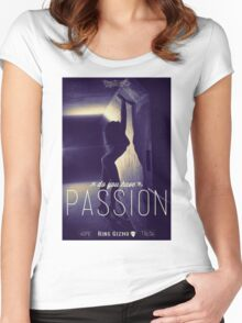 Passion [Retro] Women's Fitted Scoop T-Shirt