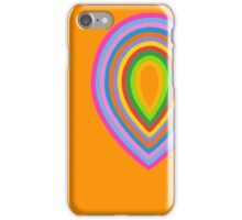 Concentric 7 iPhone Case/Skin