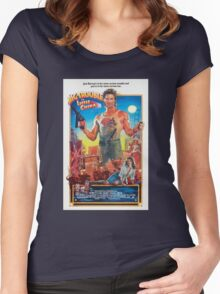 Jack Burton / Big Trouble In Little China Women's Fitted Scoop T-Shirt