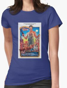 Jack Burton / Big Trouble In Little China Womens Fitted T-Shirt
