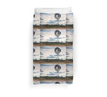 Outback Windmill Duvet Cover