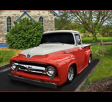 1956 Ford F100 Pickup by Keith Hawley