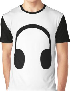 Headphones Graphic T-Shirt