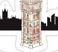 Big Ben Clock Tower Sticker