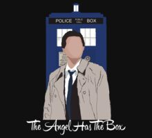The Angel Castiel Has The Box (White Text) by TesniJade