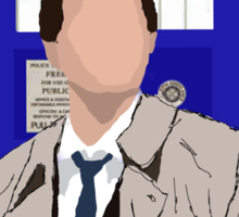 The Angel Castiel Has The Box (No text) Sticker