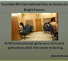Kick start career with RH International by rhiltd