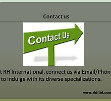 Contact us  by rhiltd