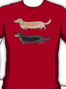 Long haired Doxies T-Shirt