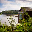 Poet Dylan Thomas Boat House by mlphoto
