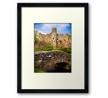 Ruined Castle at Laugharne Framed Print