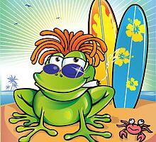 jamaican summer frog by Doomko