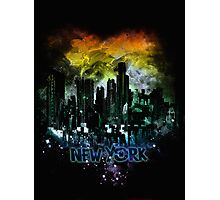 stormy city - New - York Photographic Print