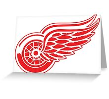 Detroit Red Wings Greeting Card