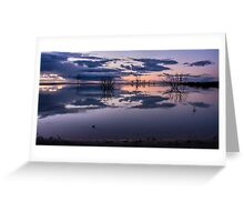 Lake Menindee Greeting Card