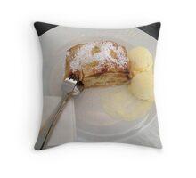 Hot Apple Strudel Throw Pillow