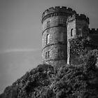 Overlooking Edinburgh by Errne