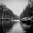 Amsterdam in winter by syze
