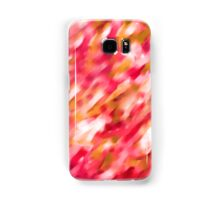 Watercolor red lines - brush drawing Samsung Galaxy Case/Skin