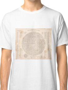 vintage Moon map Classic T-Shirt