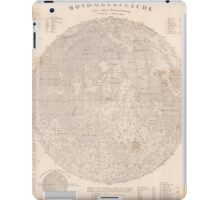 vintage Moon map iPad Case/Skin