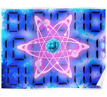 digital atom Poster