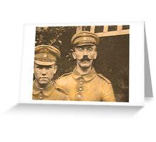 Corporal Adolf Hitler Greeting Card