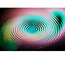 The Art of Ripples Photographic Print
