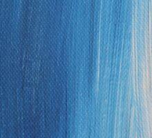 Blue tints Sticker
