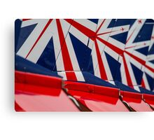 Red Arrows Tail art Canvas Print
