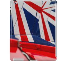 Red Arrows Tail art iPad Case/Skin