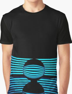 Abstract - Crystal Lines Graphic T-Shirt