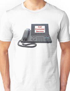 Customer Service VoIP Phone Unisex T-Shirt