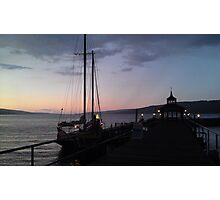 Finger Lakes at Sunset Photographic Print