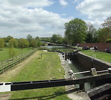 Caen Hill Locks by flowerpot23